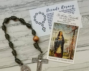 Saint Kateri Tekakwitha Decade Rosary