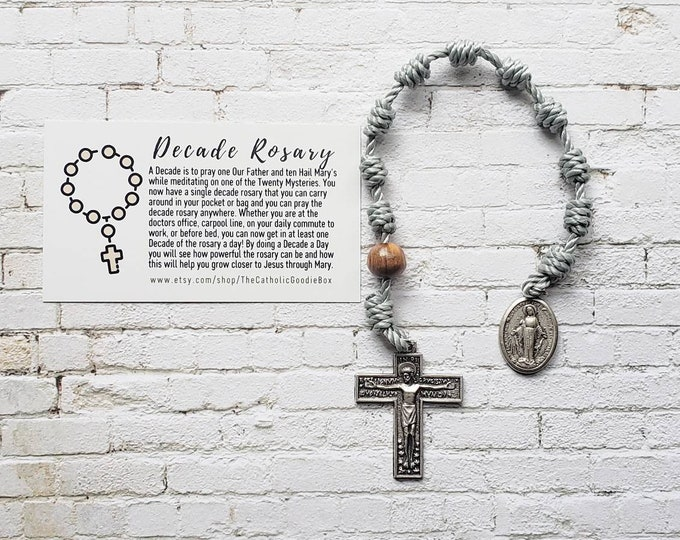 Decade Rosaries - 19 twine colors to choose from