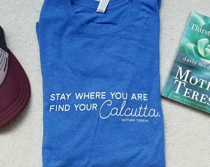 Find Your Calcutta Unisex T-Shirt