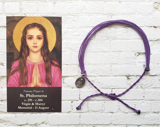 Wanderer Companion Bracelet | Saint Philomena