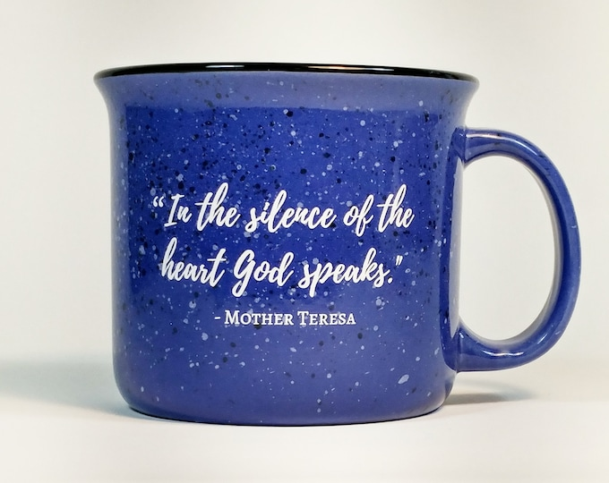 St. Mother Teresa of Calcutta Campfire Mug - 15oz