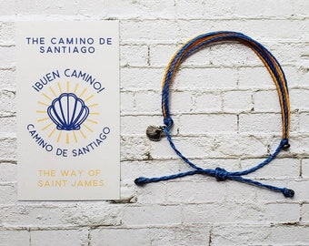 Wanderer Companion Bracelet l Camino de Santiago The Way of Saint James Pilgrimage
