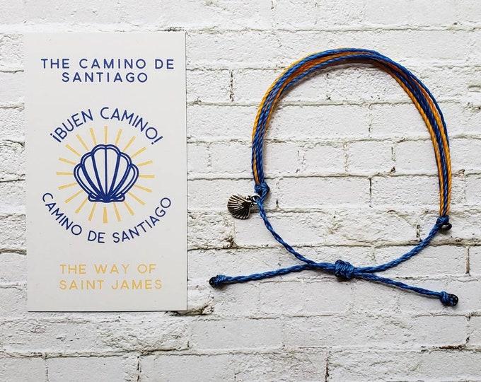Wanderer Companion Bracelet l Camino de Santiago The Way of Saint James Pilgrimage