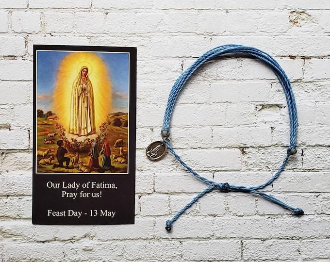 Wanderer Companion Bracelet | Our Lady of Fatima