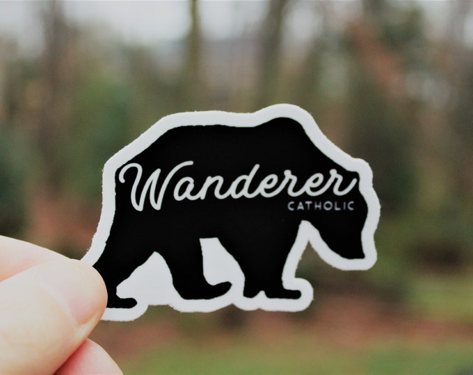 Wanderer Bear Sticker