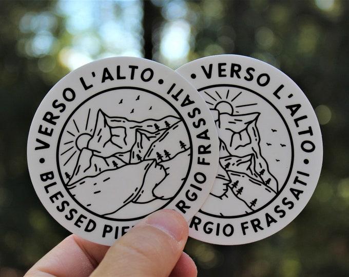 Verso L'alto Sticker 2 pack