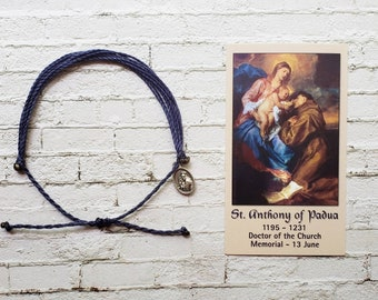Wanderer Companion Bracelet | Saint Anthony of Padua
