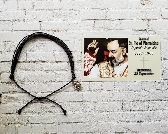 Wanderer Companion Bracelet | Saint Padre Pio