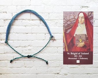 Wanderer Companion Bracelet | Saint Brigid of Ireland