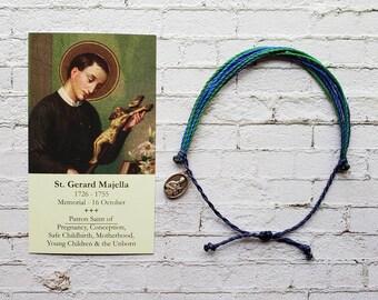 Wanderer Companion Bracelet   Saint Gerard Majella