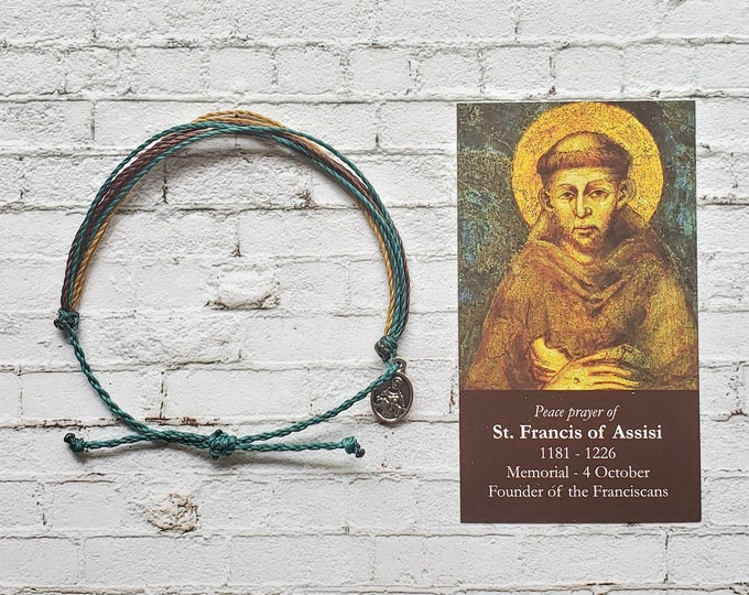 Wanderer Companion Bracelet | Saint Francis of Assisi