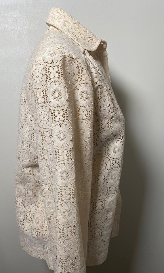1960's Lace Blouse - image 6
