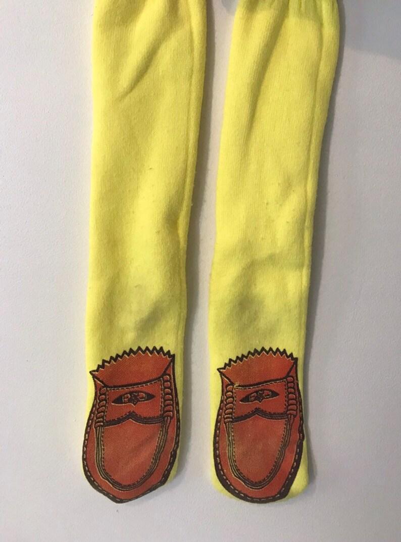 1950/'s Penny Loafer Print Socks