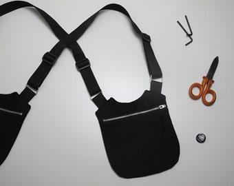 Black UNISEX Holster/Black HOLSTER bag