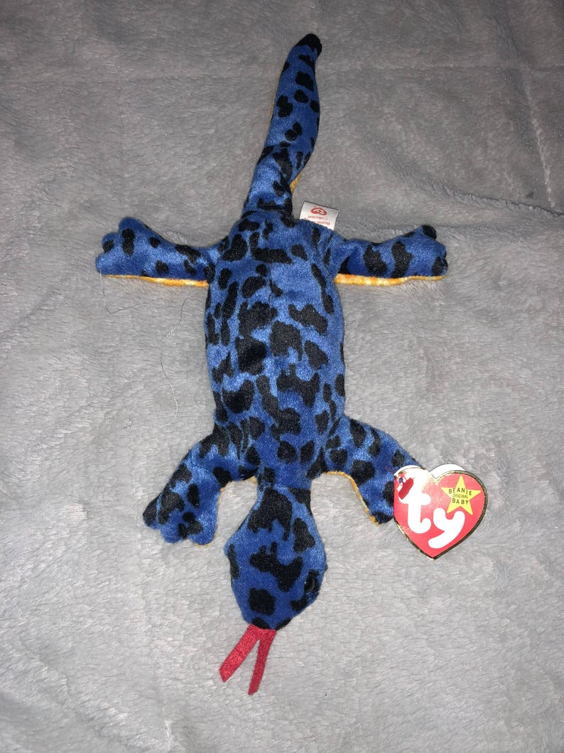 75ea63df74c Ty Original Lizzy Beanie Baby with errors Style 4033 PVC