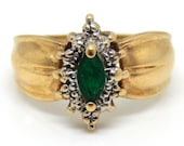 10K Yellow Gold Vintage D...