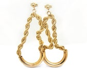 14K Yellow Gold Rope with...