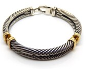 14K Yellow Gold Sterling ...