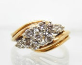 Estate 14K Yellow Gold Di...