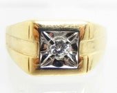 Vintage 14K Yellow and Wh...