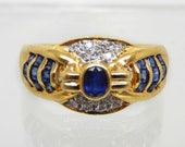 Vintage 18K Yellow Gold S...