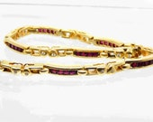 Vintage 18K Yellow Gold D...
