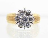Vintage 14K Yellow Gold D...