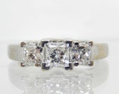 Estate 14K White Gold Pri...