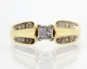 Vintage 10K Yellow Gold D...