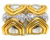 18K White & Yellow Gold V...