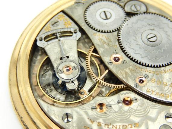 Dating min Elgin Pocket watch