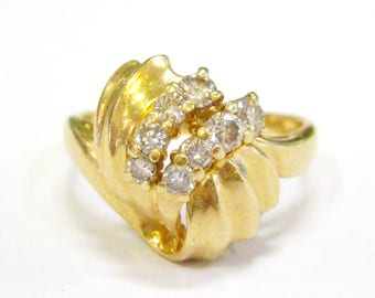 Vintage 14K Diamond Ring - X3245