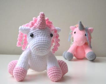 Baby unicorn amigurumi pattern - Amigurumi Today | 270x340