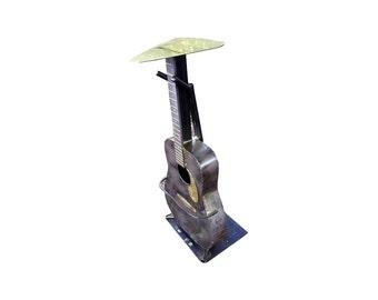 Guitar steel bar stool