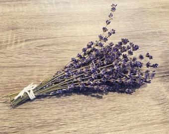 Lavender Bunch - Organic English Royal Velvet - 70 Stems