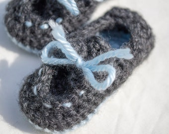 Baby Boat Shoes // Baby Loafers // Baby Slippers // Baby Shower Gift // Baby Boy Shoes // Baby Girl Shoes