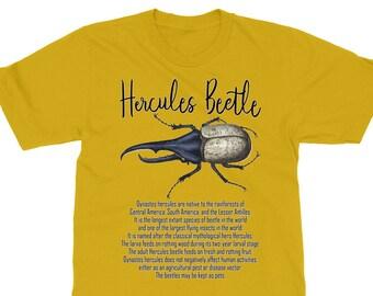 Hercules Beetle Adult, Plus to 6X, Youth, Womens, T-shirt, Sweatshirt, Long Sleeve or Hoodie