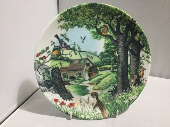 The Meandering Stream Collectors Plate Wedgwood With Certificate And Boxed