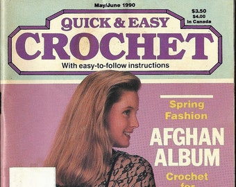 Quick & Easy Crochet Magazine from May/June 1990