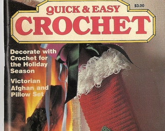 Quick and Easy Crochet Magazine