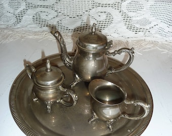 Silver plated coffee-Tea set