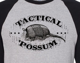 991e547d9 Father's Day Gift for Dad Joke T-Shirt Gift for Men Funny T-shirt Texas Armadillo  Lover T-shirt Baseball Vintage Style Shirt Tactical Possum