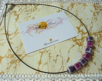 3 zirconia necklace