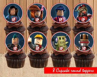 Digital Ghostbusters Cupcake Personal Toppers Ghostbusters Etsy