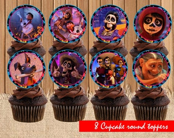 Disney CoCo surprise toppers| Disney CoCo birthday party| printable Disney CoCo toppers| Disney CoCo decor| Disney CoCo children birthday