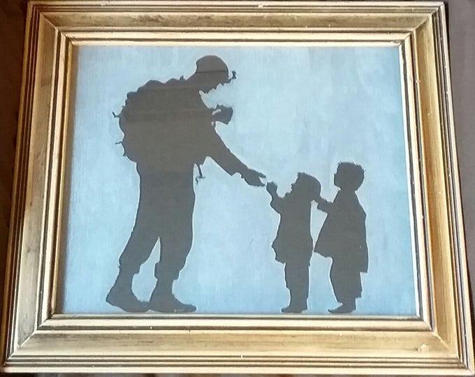 Marine  and kids