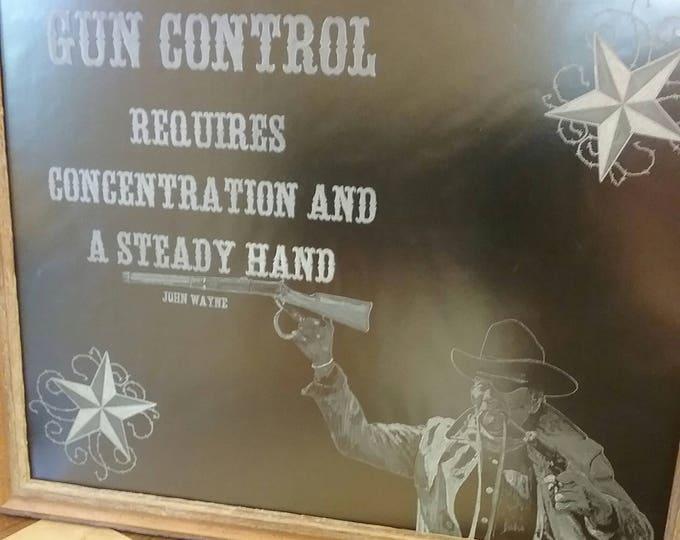John Wayne's Guns Control