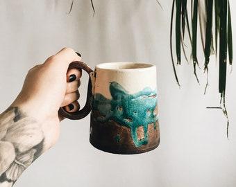 Ceramic Tea Cup, Modern Tea mug, Coffee Cup, Tea cup
