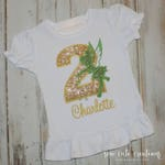 Tinkerbell Girl Birthday shirt - Tinkerbell outfit - Fairy Birthday shirt - Fairy outfit - Disney trip - Sew cute creations