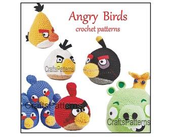 Angry birds - Amigurumies | 270x340